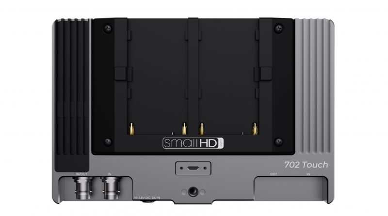 SmallHD 702 Touch Back Sony L Series Np-F 3G-SDI HDMI