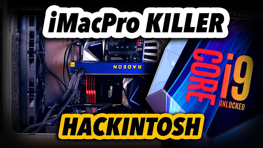 The Ultimate Hackintosh Build 2019 - 14-core iMacPro Killer | 4K