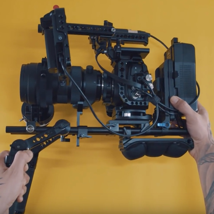 BMPCC4k Shoulder Rig