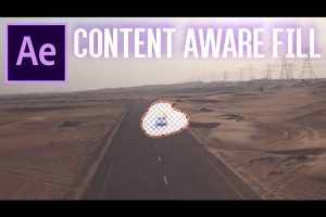 Removing an Object with the New Content Aware Fill Tool in After Effects CC