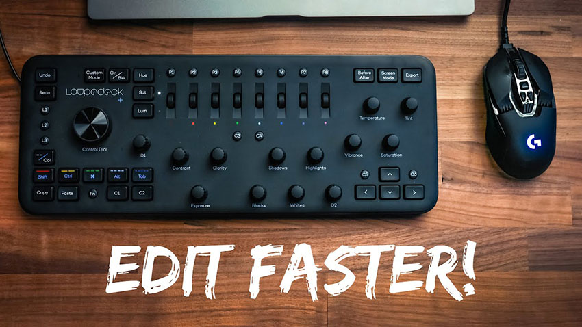 Editing and Color Grading Faster Using Loupedeck in Adobe Premiere Pro 2019
