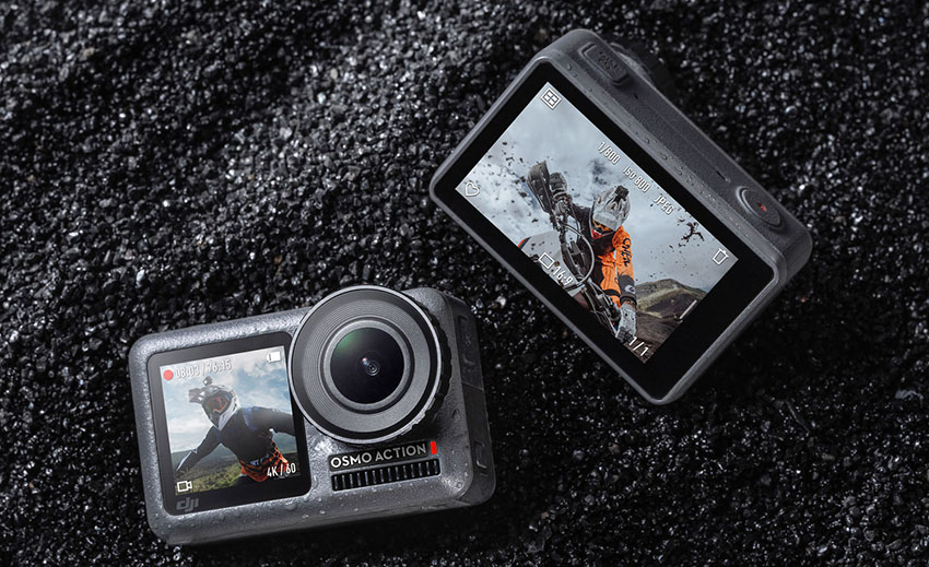 DJI Osmo Action - 4K60p, Dual Screens, RockSteady Stabilization, HDR, and More