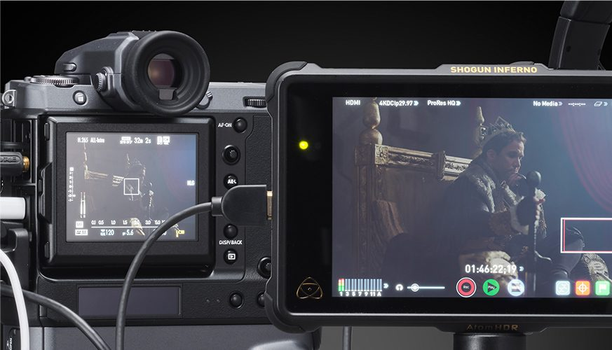 "Fujifilm GFX100 ""Large Format"" 4K Camera Announced"