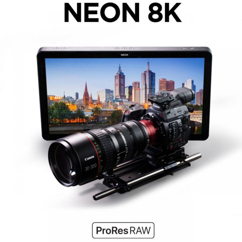 Atomos Neon Goes 8K and Canon Have a