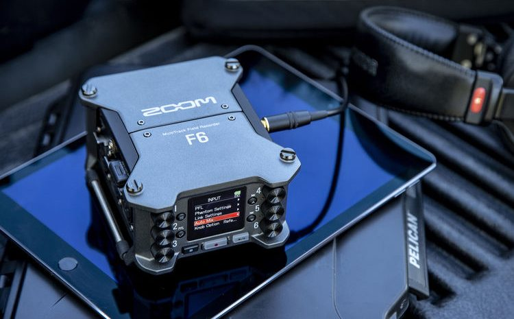 You Can Now Pre-Order the Zoom F6 Multitrack Field Recorder