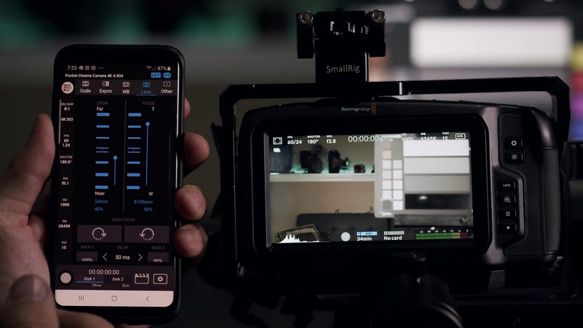Closer Look At The Android Controller App For Bmpcc 4k 4k Shooters