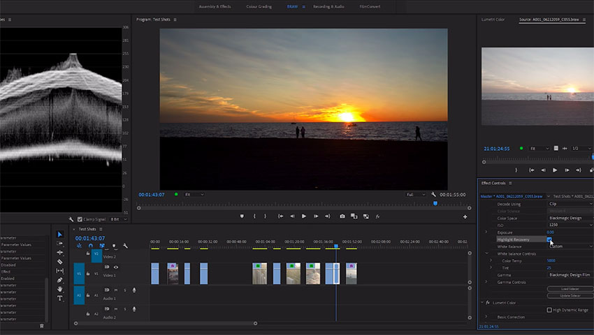 How to Edit Blackmagic RAW in Premiere Pro CC | 4K Shooters