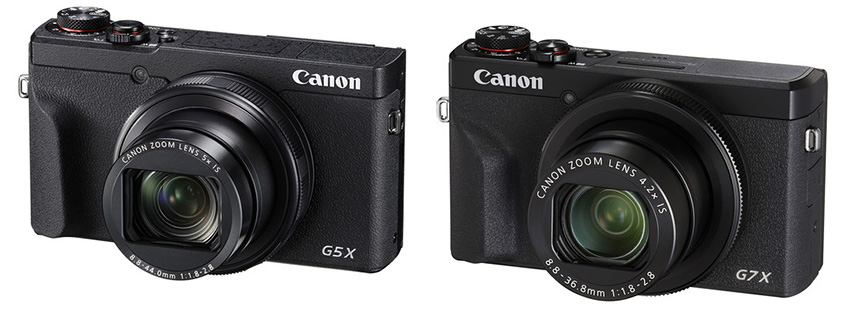 Canon Unveils PowerShot G7 X Mark III and G5 X Mark II Entry-Level