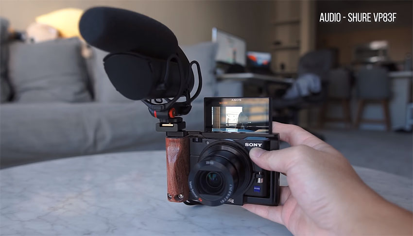 Best Audio Setup for Your Sony A6500, RX100 VI, and Canon G7X | 4K