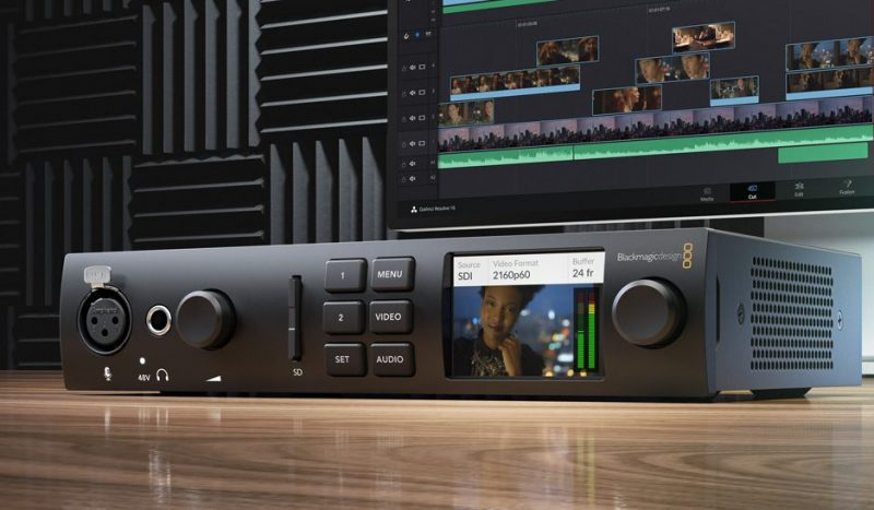 Blackmagic Design Announces New UltraStudio 4K Mini | 4K Shooters