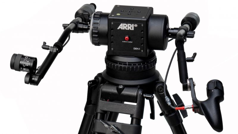 ARRI DEH-1 Stabilized Remote Head Master Grips