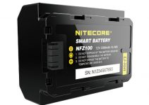 NITECORE NFZ100 Smart Batteries for Your Sony A7R III, A7III, and A9