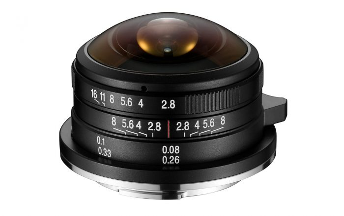 Laowa 4mm f2.8 Fisheye MFT Micro Four Thirds