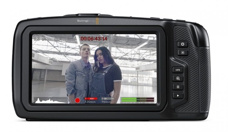 Blackmagic Pocket 6K Touchscreen Back