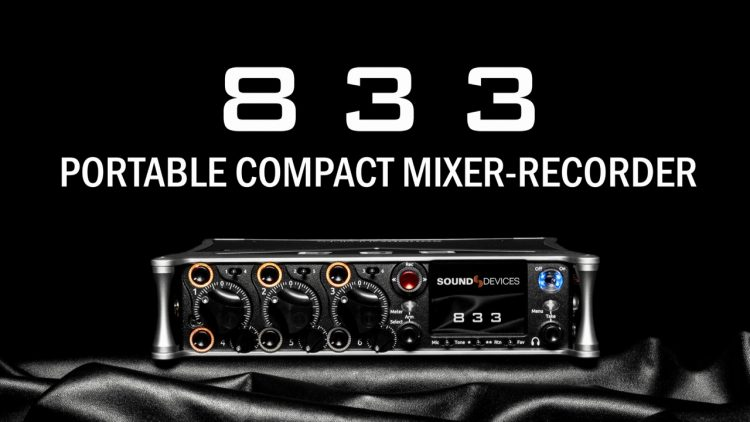 Sound Devices 833 Mixer Recorder