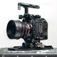 C500 Mark II Bright tangerine cage