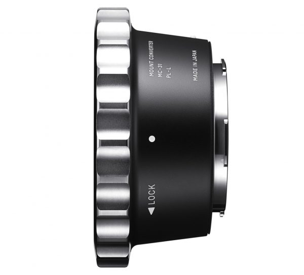 Sigma MC-31 PL to L mount adapter converter