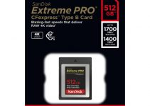 SanDisk Launches Extreme PRO CFexpress Cards for 4K RAW Video
