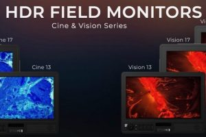 """SmallHD 4K HDR """"CINE"""" and """"VISION"""" Series Field Monitors"""