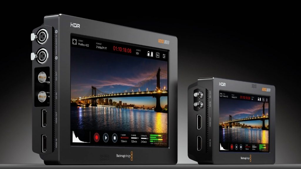 Blackmagic Video Assist 12G HDR IBC 2019