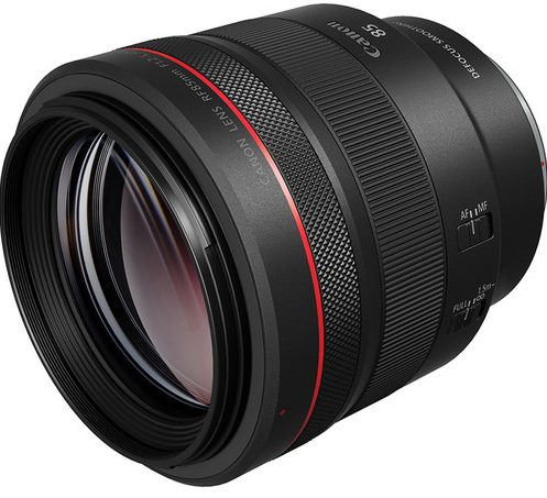 Canon RF 85mm 1.2 DS 1