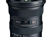Tokina Introduces ATX-i 11-16mm f/2.8 CF Lens for Canon EF and Nikon F