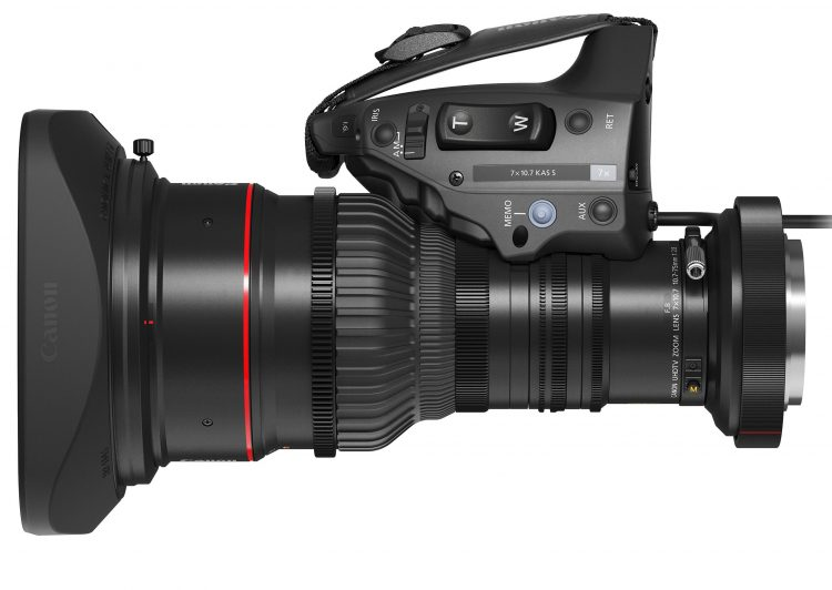 Canon 8K broadcast zoom lens