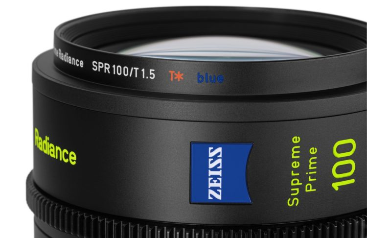 Zeiss supreme radiance primes flare large format t blue coating