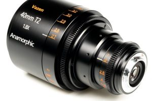Vazen 40mm t2 Anamorphic 1.8x MFT side