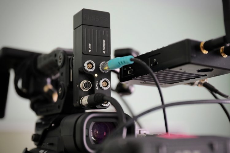 Teradek RT receiver MDR brain C300 Mark II