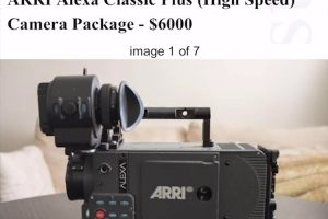 Buying an ARRI ALEXA for just $6,000?