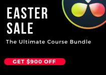 Less Than 24 Hours to Get the Ultimate Resolve 16 Course Bundle with 90% OFF
