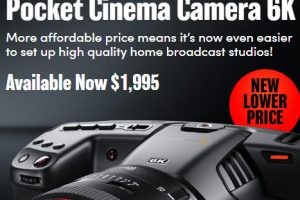 BMPCC 6K Just Got $500 Cheaper, Now Selling for $1,995