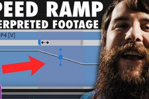 How To Speed Ramp Interpreted Footage in Premiere Pro