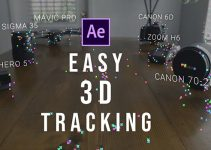 Easy 3D Text Tracking in After Effects