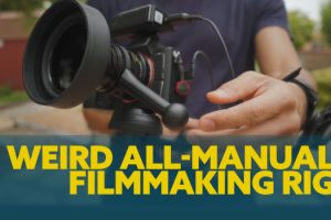 Check Out This Dope DIY All-Manual Filmmaking Rig