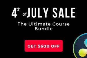 4th of July Sale! Get the Ultimate Resolve Course Bundle by Alex Jordan with 85% OFF