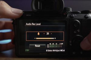 Best Audio Settings for Your Sony Mirrorless Camera