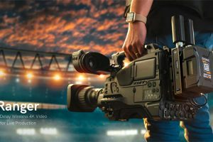 You Can Now Transmit Uncompressed 4K HDR Video Up to 5,000 ft with Teradek Ranger