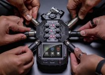 Zoom H8 Portable Handheld Recorder Introduced