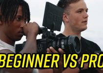 Beginner with $30,000 RED vs Pro with $600 DSLR