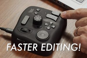 Faster Video Editing in DaVinci Resolve with the Tourbox
