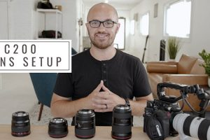 Five Must-Have Lenses for Your Canon C200