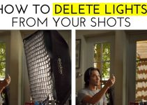 How to Delete Lighting Gear from Your Shots
