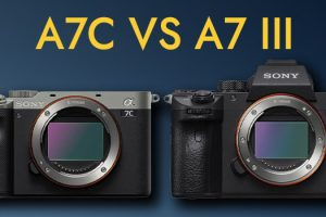 Sony A7C vs A7III – Which One to Pick?