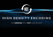 High Density Encoding (HDE) Reduces ALEXA Mini and AMIRA ARRIRAW Files Almost by Half
