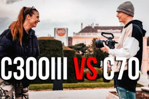 How Does the Canon C70 Footage Hold Up Against the C300 III