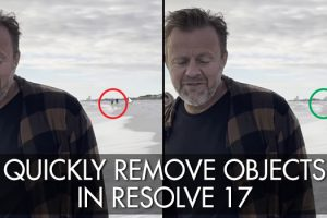How to Quickly Remove Moving Objects in Resolve 17