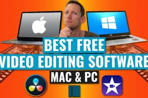 Best Free Video Editing Software for Mac or PC