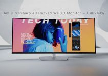 Meet Dell UltraSharp 40 –  the World's First Color-Accurate 40-Inch Ultrawide Curved 4K Monitor